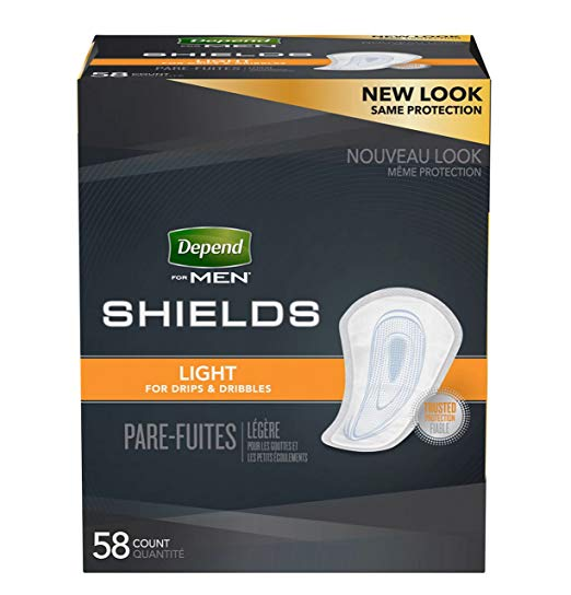 Depend Shields For Men (Low)