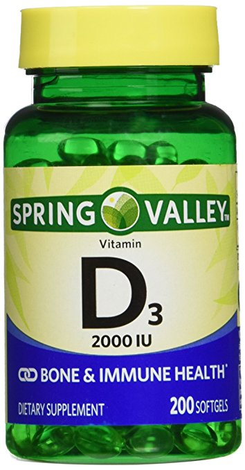 Vitamin D3 (200 softgels)