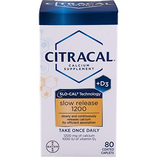 Citracal Calcium (80 caplets)