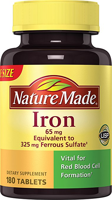 Iron (180 tablets)