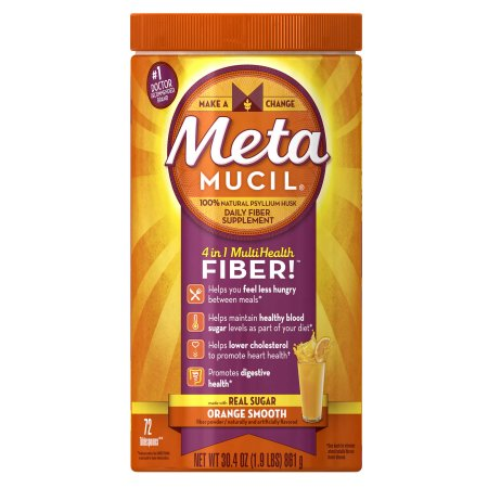 Metamucil Psyllium Fiber Supplement (72 doses)