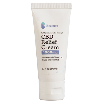 Because Hemp Extract Relief Skin Cream