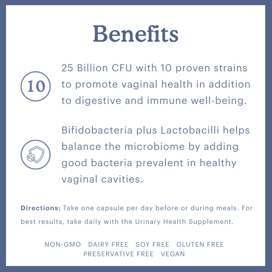 Because Feminine Probiotic Support