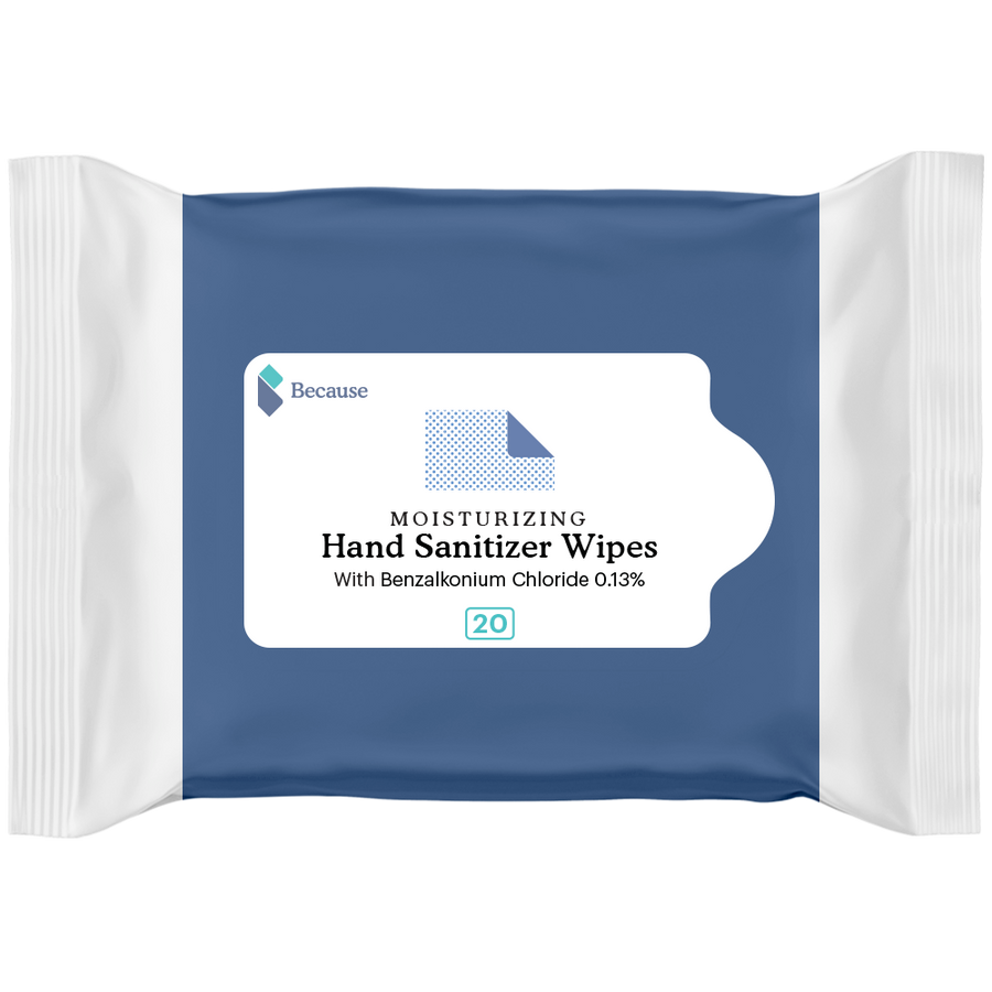 Because Hand Sanitizer Wipes
