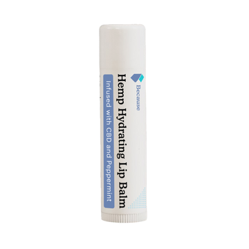 Because Hemp Extract Hydrating Lip Balm