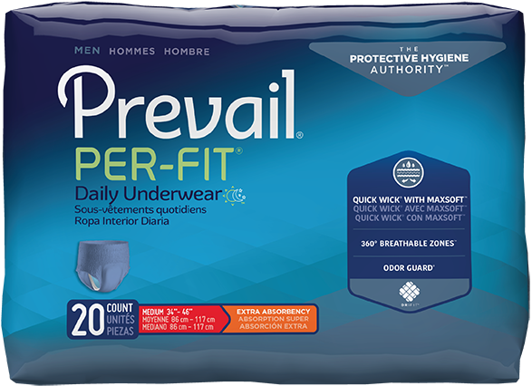 Retrial of Prevail by Because Underwear for Men (Moderate)