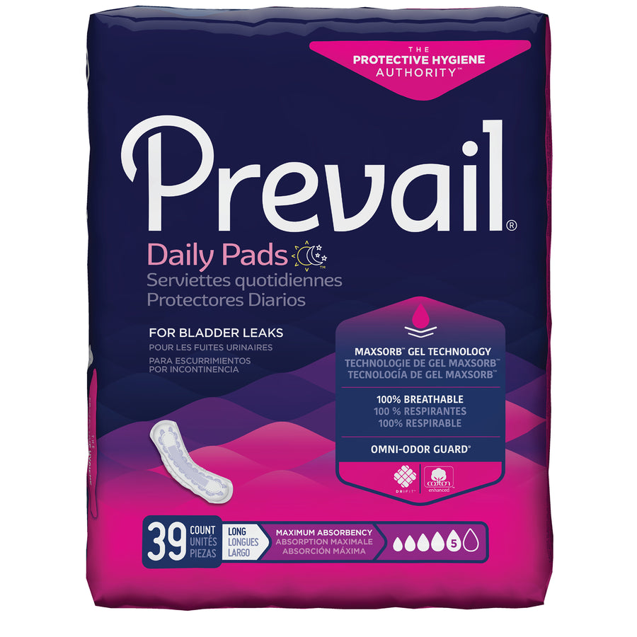 Retrial of Prevail by Because Pads for Women (Moderate Long)