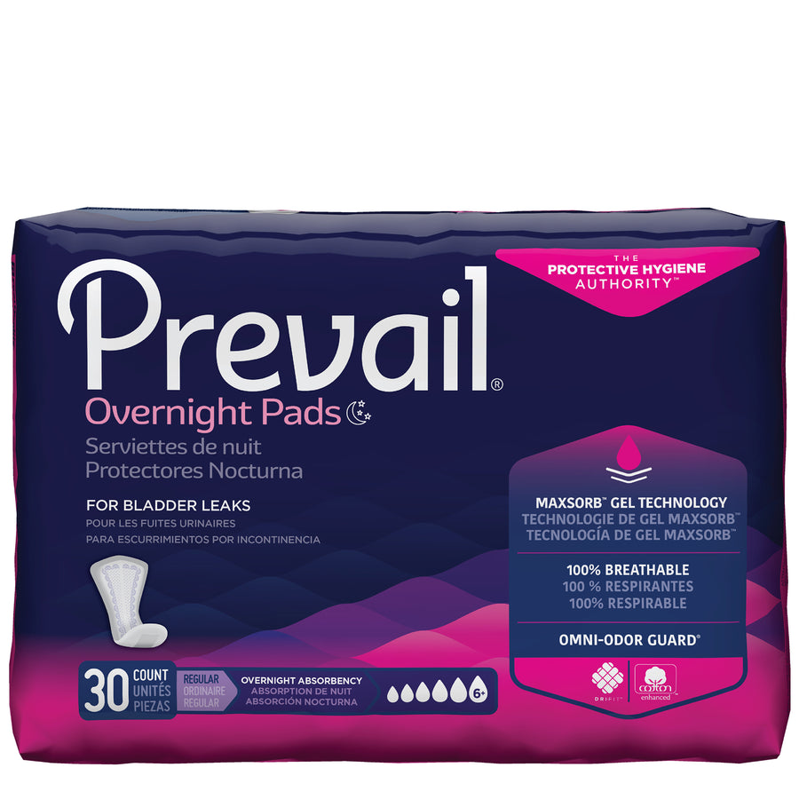Retrial of Prevail by Because Pads for Women (Overnight)