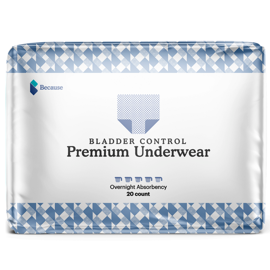 Because Premium Underwear for Men (Overnight)