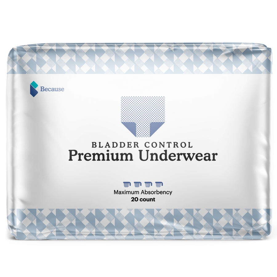 Because Premium Underwear for Men (Maximum)