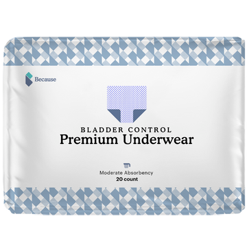 Because Underwear for Men (Moderate+)