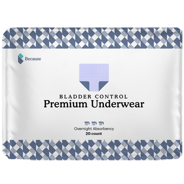 Because Underwear for Women (Overnight+)