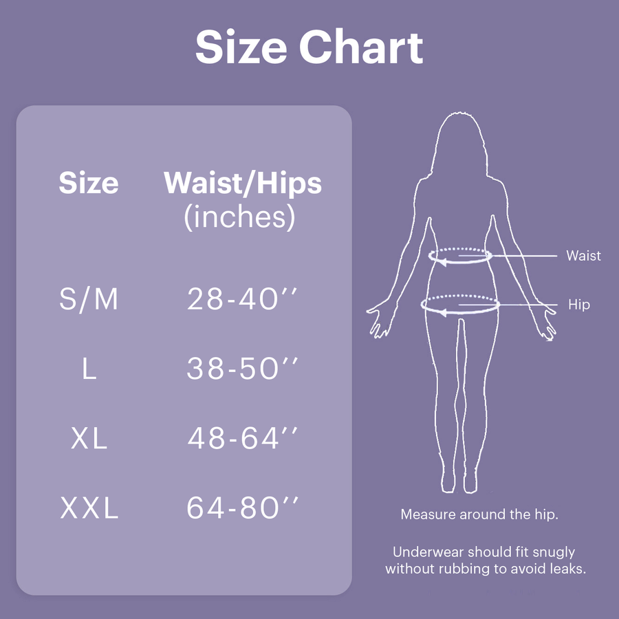 Willow By Because Underwear For Women (Moderate/Maximum)