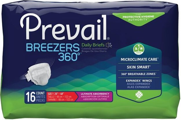 Retrial of Prevail by Because Breezers 360 Briefs (Maximum)