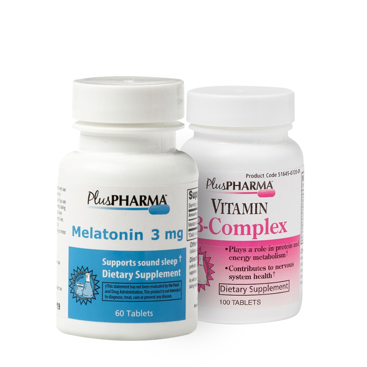 Rest and Refresh (Melatonin 3 mg, B Complex)
