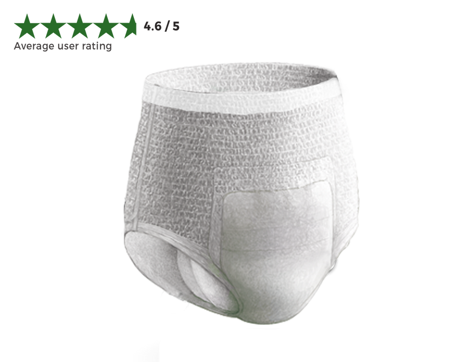Extra Sample of 3 Men's Underwear (Maximum Absorbency)