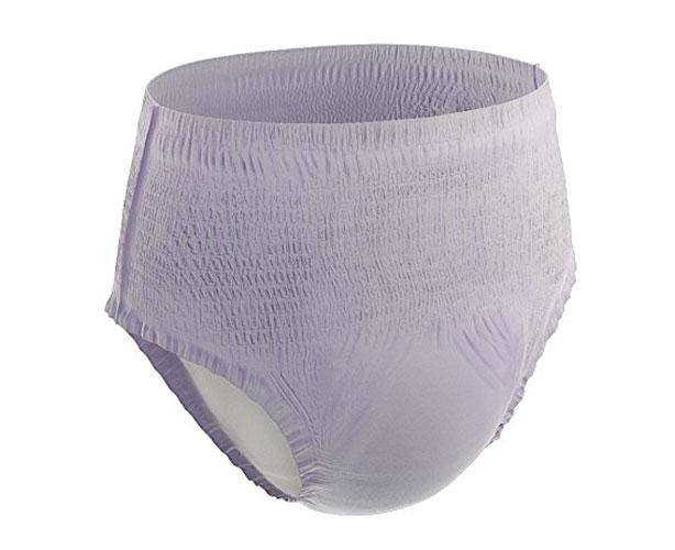 Retrial Pack of 18 Prevail Women's Underwear (Overnight, Small/Medium 28-40 in)