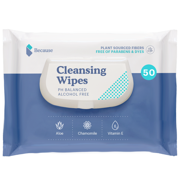 Because Flushable Wipes