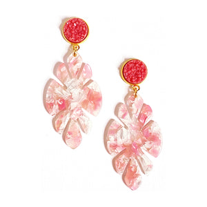 Melissa Resin Earrings