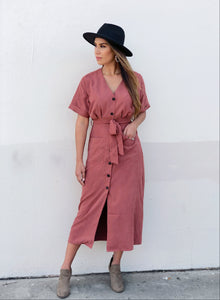 Quinn Button Down Dress