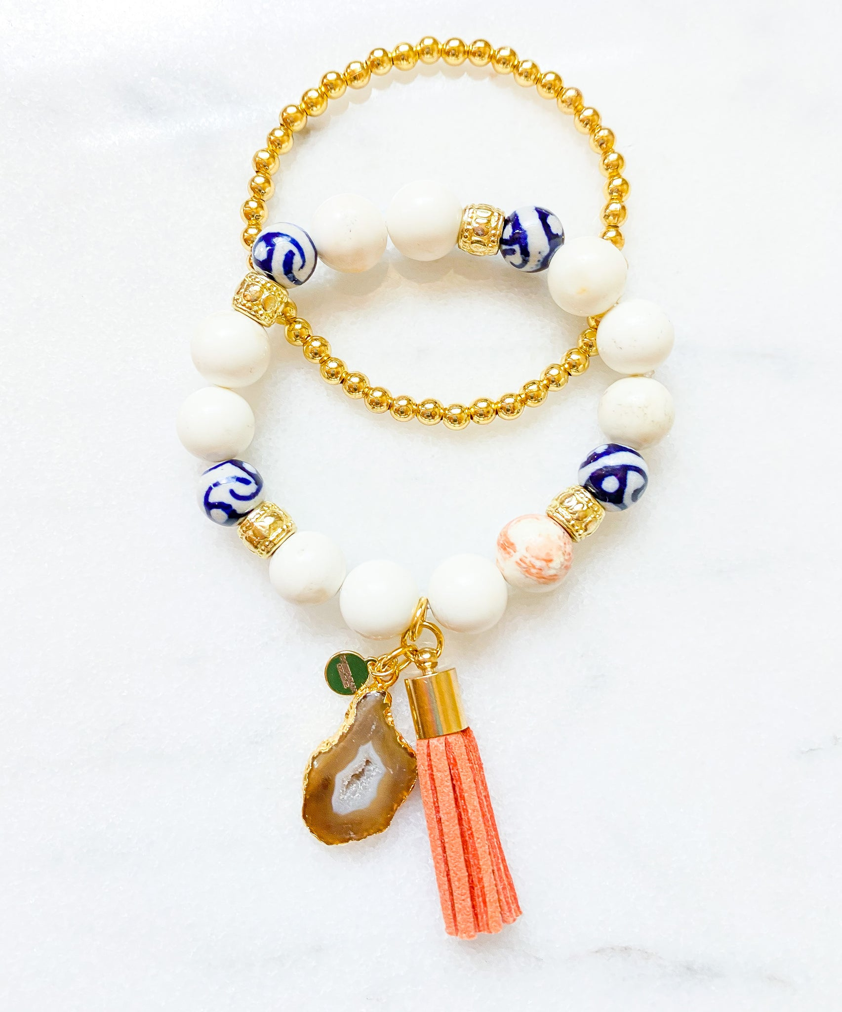 Avery Beaded Bracelet Set