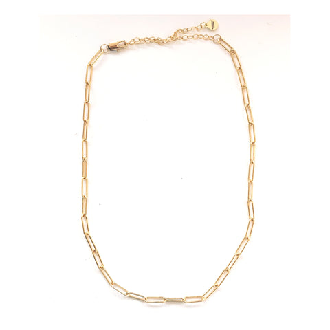 Daisy Gold Filled Cable Linked Chain