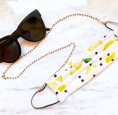 Josephine Sunglass/Mask Chain