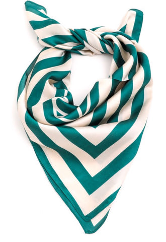 Grant Striped Bandanna Scarf