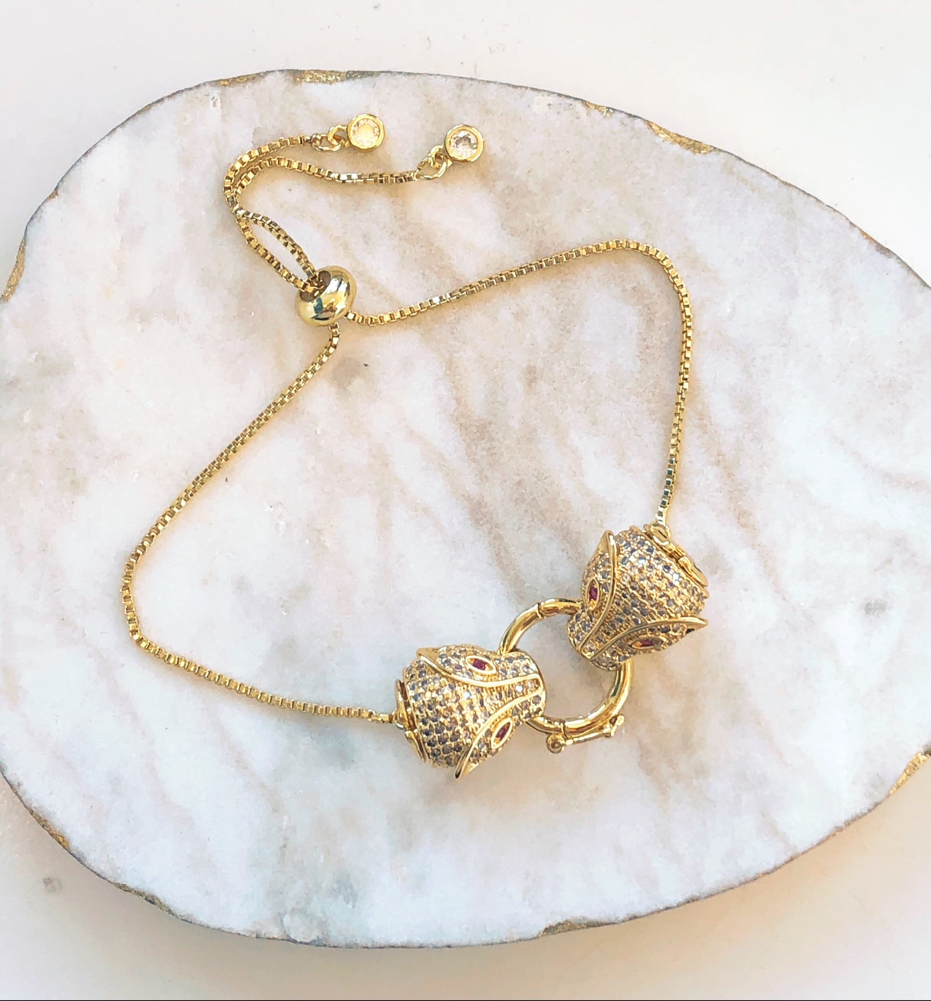 Lola Tiger Gold Filled Bracelet