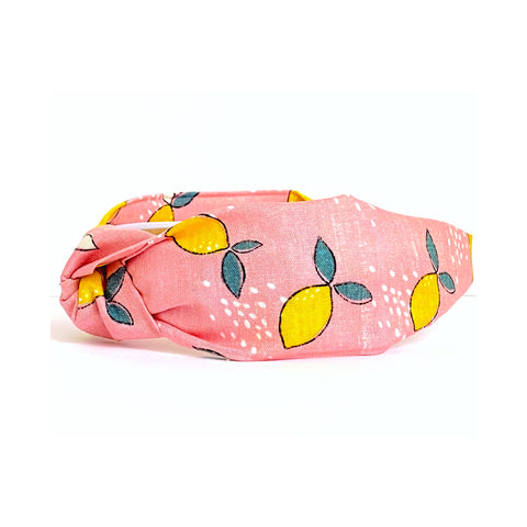 Shay Lemon Print Headband