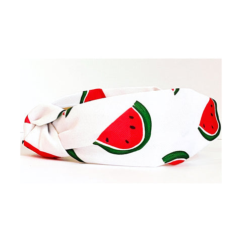 Watermelon Print Headband
