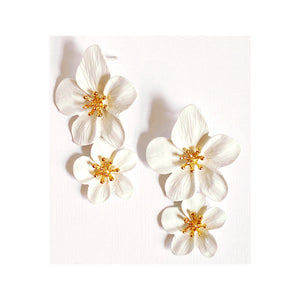 Bella Floral Drop Earrings