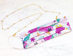 Lillian Sunglass/Mask Chain