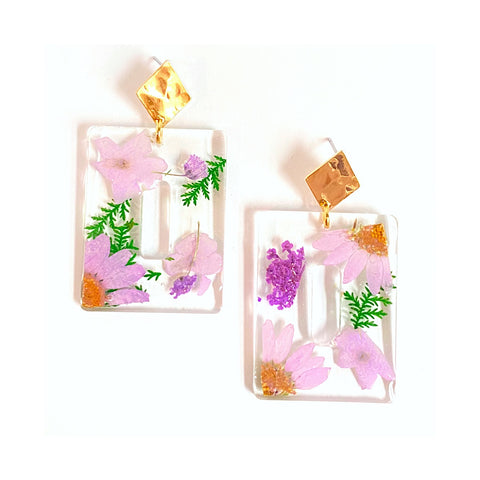 Celine Floral Earrings
