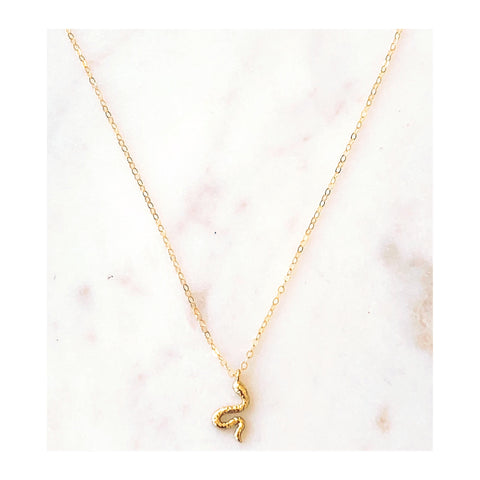 Stella Snake Necklace