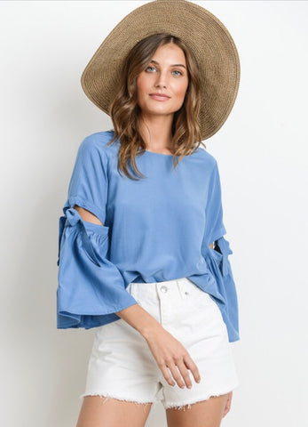 Charlotte Bell Sleeve Top