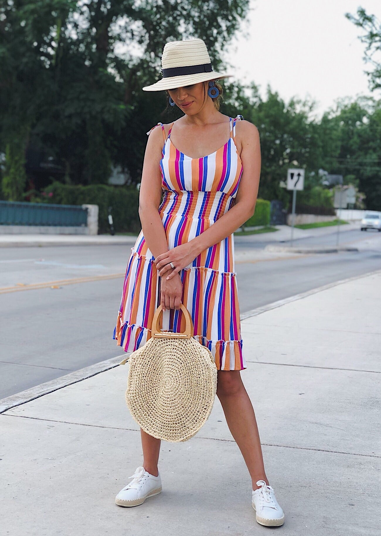 Harper Striped Dress