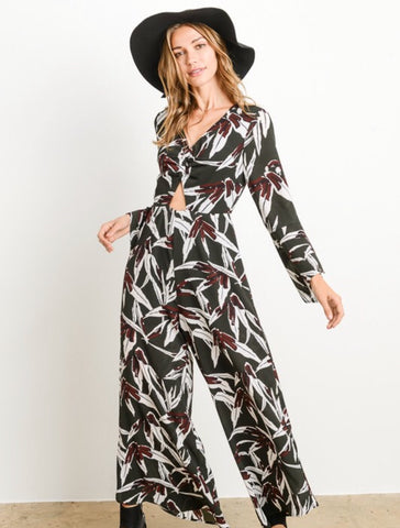 Riley Bell Sleeve Jumpsuit