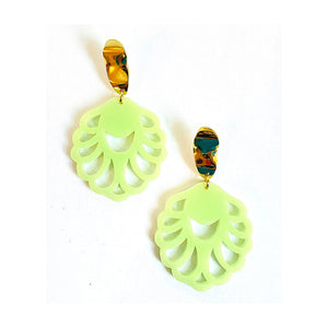 Bella Resin Statement Earrings