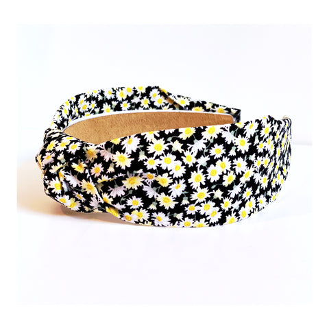 Alice Small Daisy Print Headband