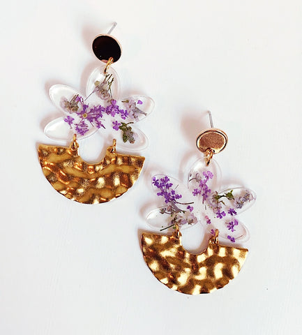 Leia Floral Earrings