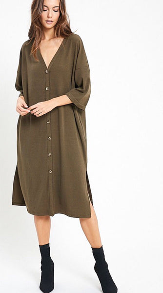 Camilla Button Down Dress