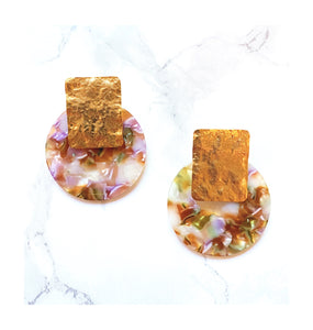 Natalia Resin Statement Earrings