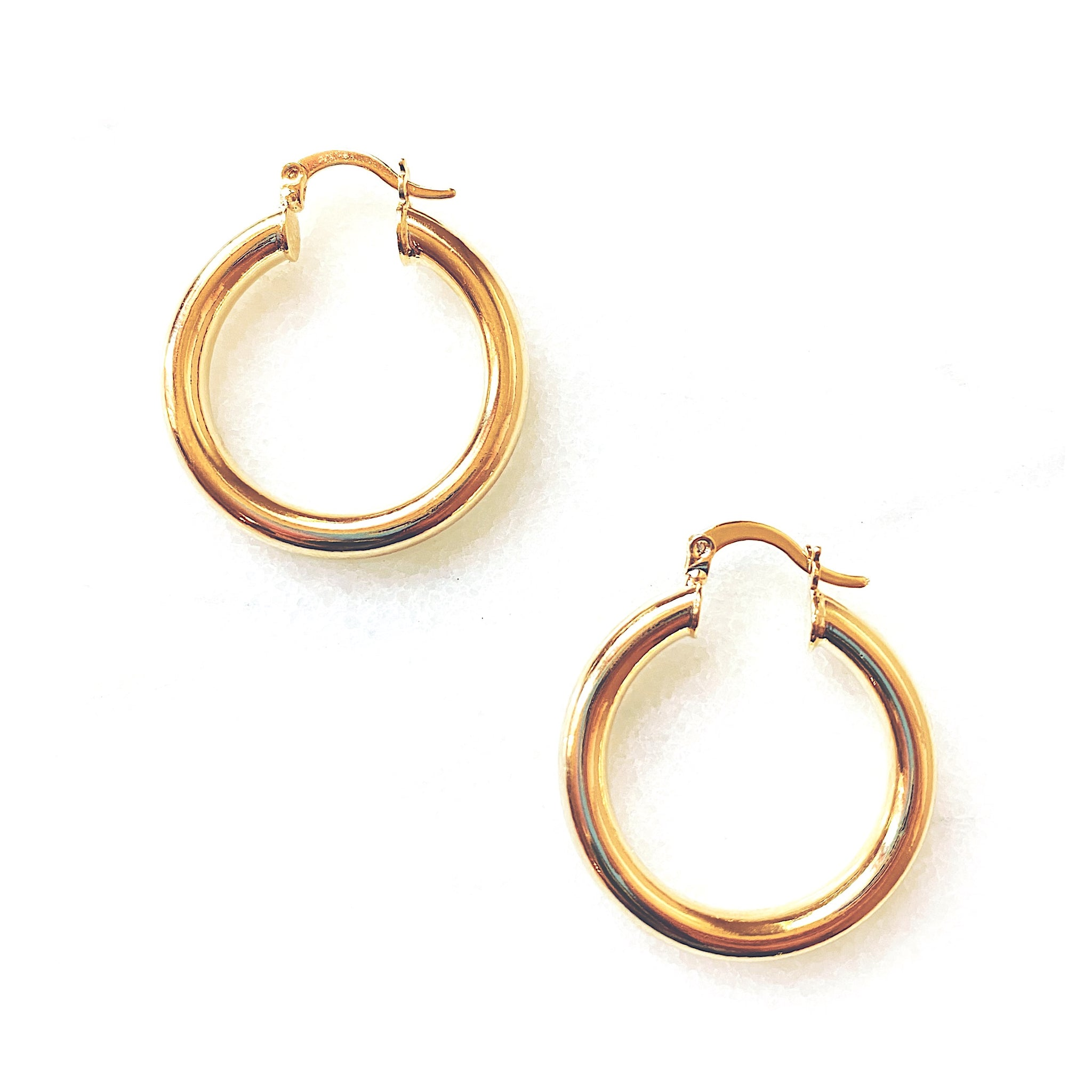 Jenny Gold Filled Hoop Earrings