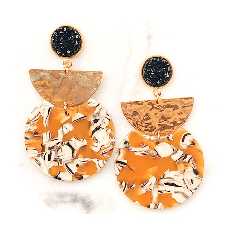 Blair Resin Statement Earrings
