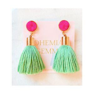 Stella Tassel Earrings
