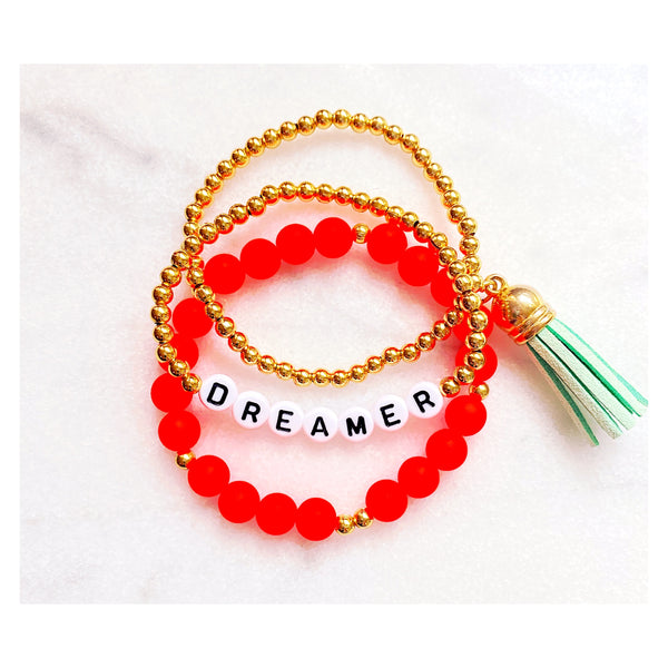 Dreamer Beaded Bracelet Stack
