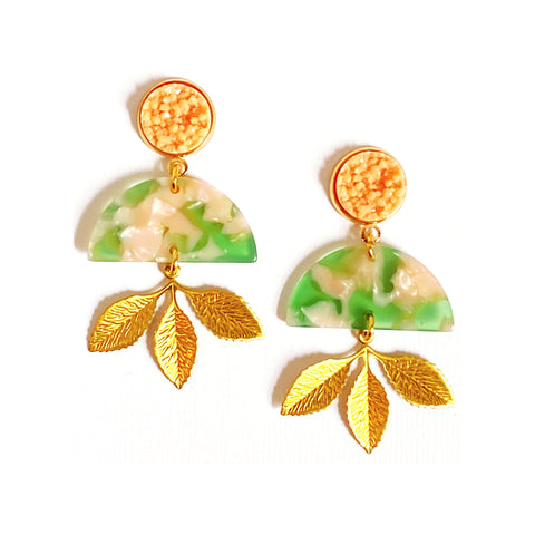 Gabrielle Resin Earrings