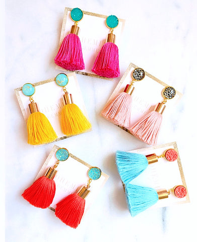 Rachel Tassel Earrings