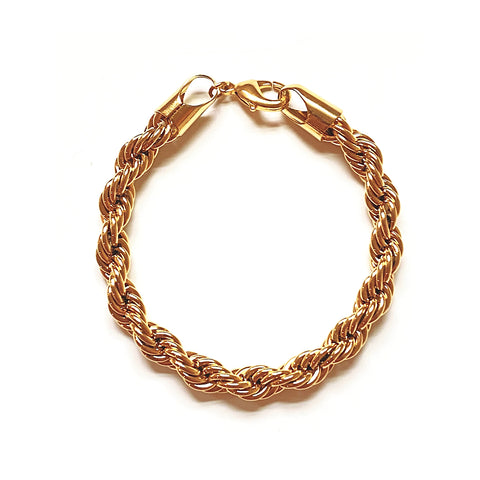 Charlotte Thick Rope Chain (Gold-Filled)